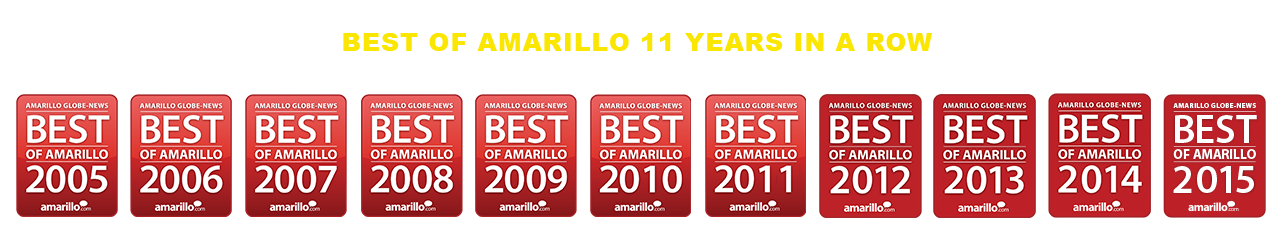Best of Amarillo 11 Years in a Row
